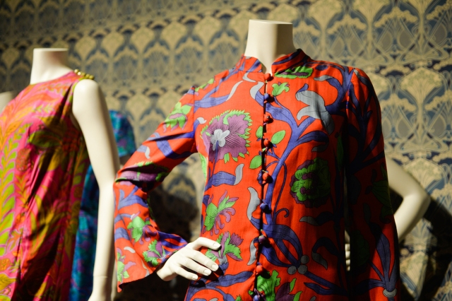 Liberty Art Fabrics & Fashions at the Dovecot Gallery. Image courtesy Fashion & Textile Museum