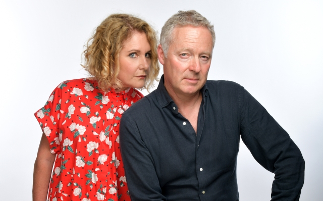 Rory Bremner and Jan Ravens